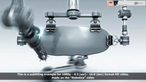Robotica subtitled